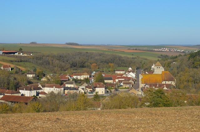 Le village de Gy lEvêque