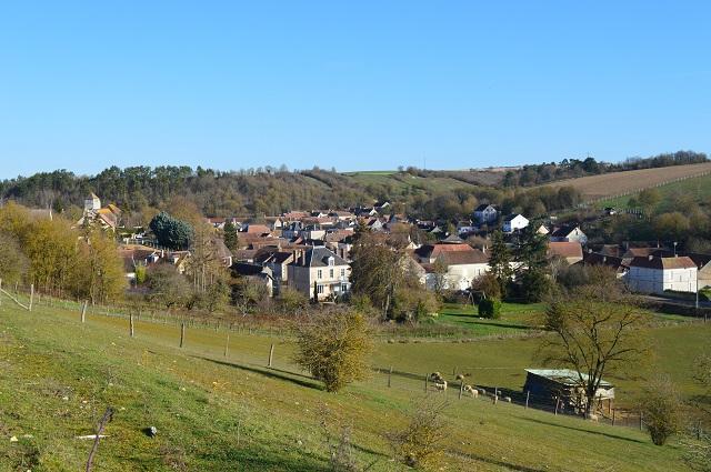 Le village et ses moutons